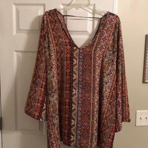 Bohemian-style blouse